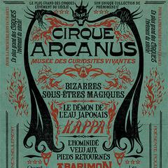 Uno de los carteles publicitarios del circo.