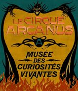 Circus Arcanus Show Banner - Le Cirque Arcanus