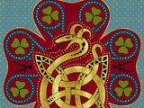 Serpent cornu (maison)