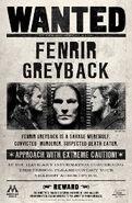 MinaLima Store - Fenrir Greyback Wanted Notice