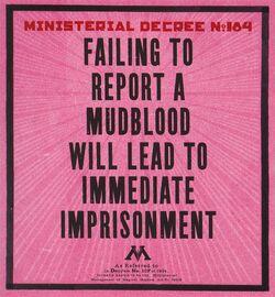 Ministerial Decree