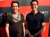 James und Oliver Phelps