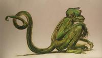 Żabert - ilustracje Olivii Lomenech Gill