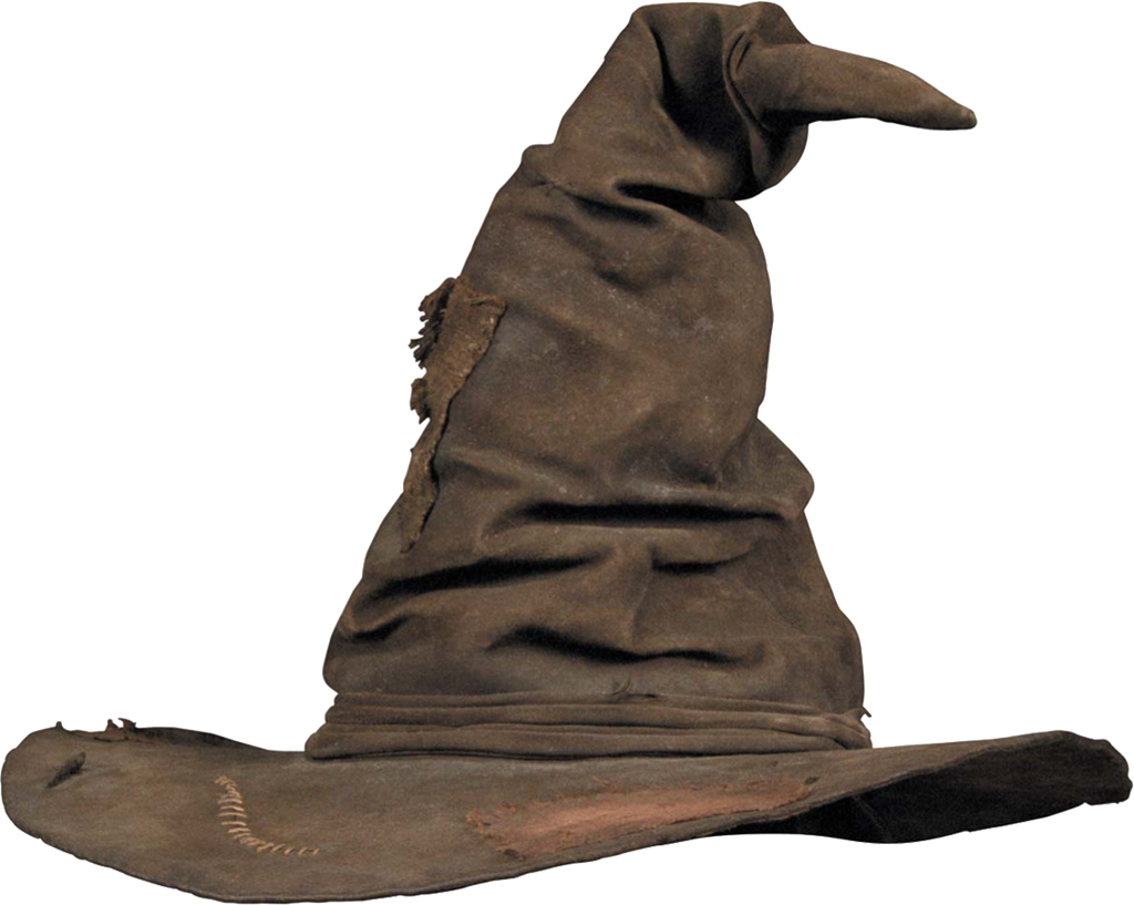 Free Printable  Harry Potter Origami Sorting Hat   book