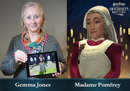 HM promo Gemma Jones Poppy Pomfrey