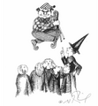 JKR Peeves and Percy illustration.png