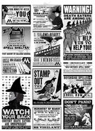 MinaLima Store - Ministry Advertisements From The Daily Prophet