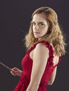 DH1 Hermione Granger red dress robes 01