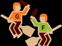 Fred et George - Batteurs