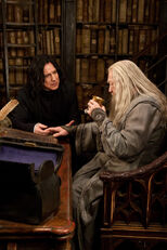 Snape and Dumbledore