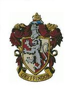 Gryffindor coat of arms