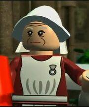 Madam Pomfritt som legofigur