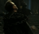 Niezidentyfikowany śmierciożerca, który walczył na korytarzu na pierwszym piętrze