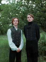Albus Dumbledore and Gellert Grindelwald