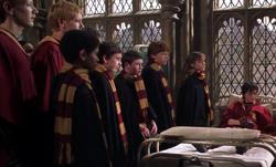 Harry à l'infirmerie