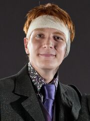 DH promo front closeup George Weasley