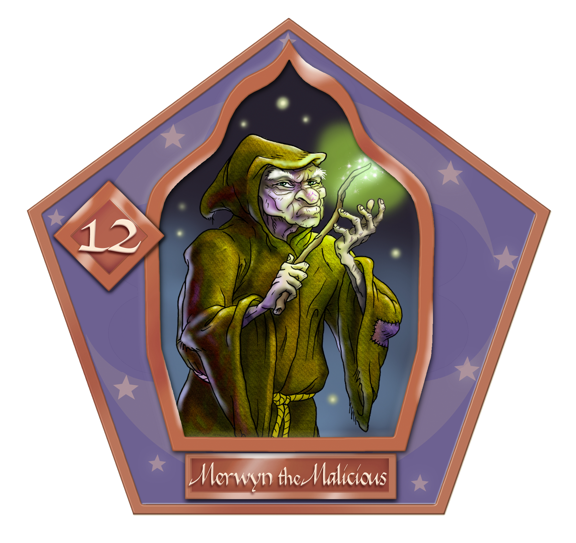 Merwyn The Malicious-12-chocFrogCard