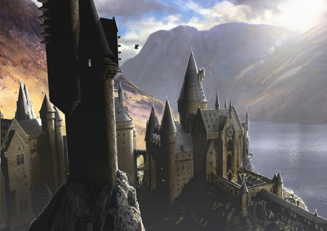 File:Hogwarts Castle OotP concept art.png