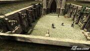 Pátio de Hogwarts