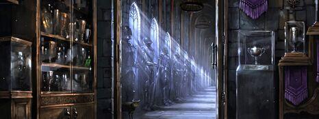 盔甲走廊。