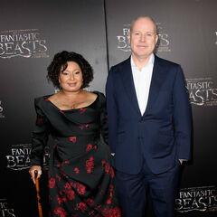 Дэвид Йэтс с супругой