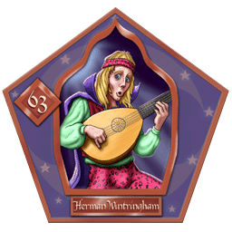 Herman Wintringham-63-chocFrogCard