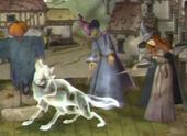 Patronus loup villageoise