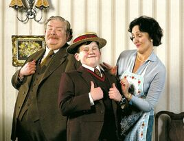 Dursley family (Promotional photo)