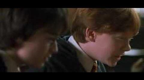 Harry Potter i Komnata Tajemnic - scena usunięta 7