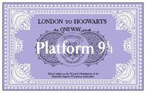 Билет Платформа Хогварс-экспресс