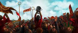 Il Grifondoro vince la coppa dei campioni