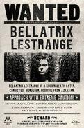 MinaLima Store - Bellatrix Lestrange Wanted Notice