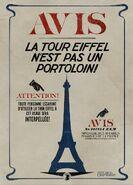 Tour Eiffel Poster