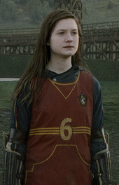 Ginny In Quidditch Uniform