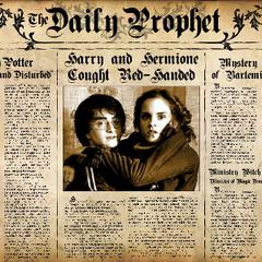 «У Гарри Поттера появилась девушка?»
