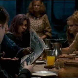 Кингсли показывает Гарри информацию