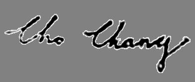 Cho Chang sig