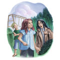 Deathly Hallows book Art (Chapter 33)