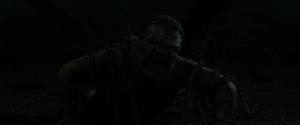 En kjempe blir fanget av en Djevelsnare