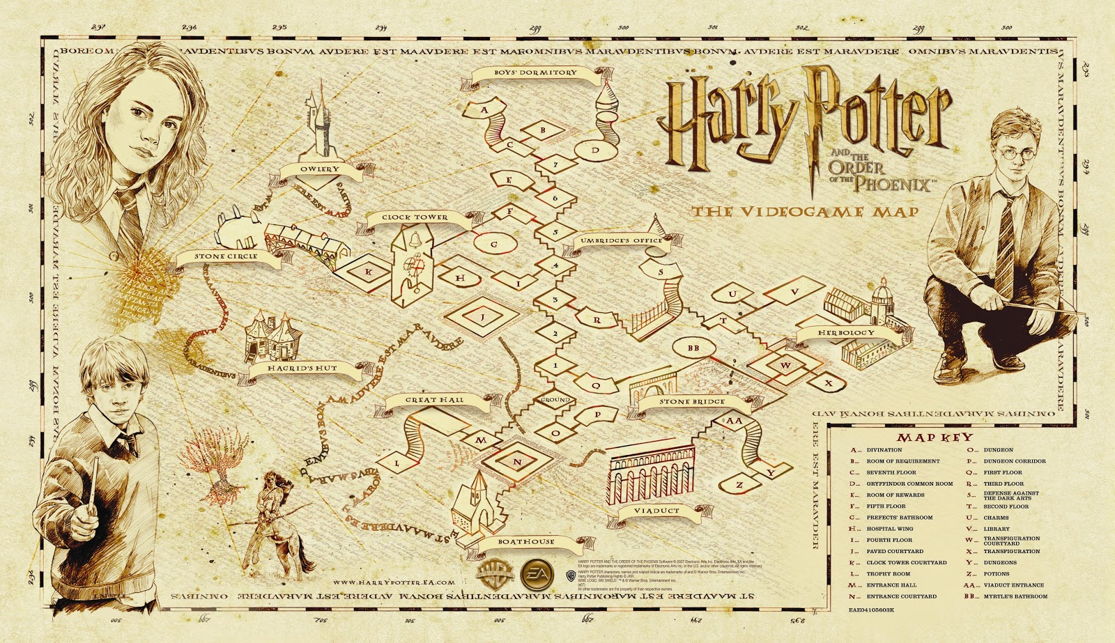 marauder's map  harry potter wiki  fandom powered by wikia - special abilities of the map