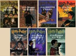 Saga Harry Potter Livres