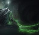 Łódź w jaskini horkruksa