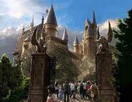 Hogwartsgelände betreten