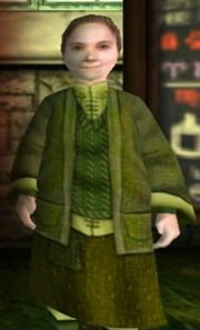 Pomona Sprout from Harry Potter and the Philosopher's Stone PC
