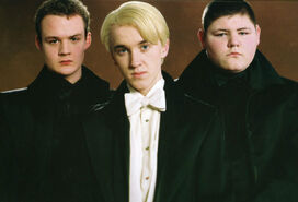 Draco, Grabe i Goyle