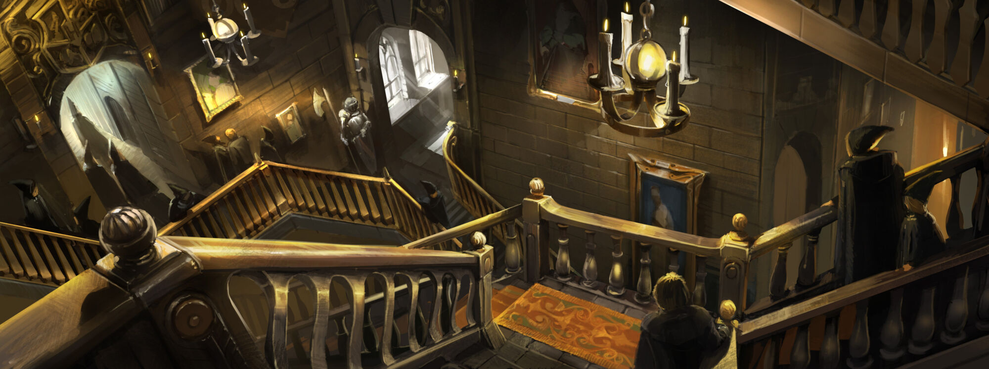 Grand Staircase Harry Potter Wiki Fandom Powered By Wikia