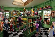 Concept photo of The Honeydukes