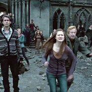 Ginny, Mr. Weasley, Neville