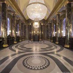 Холл Гринготтса в волшебном парке в Орландо