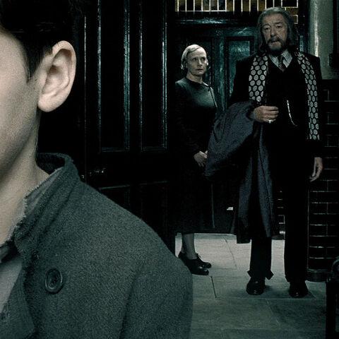 Дамблдор посещает Тома